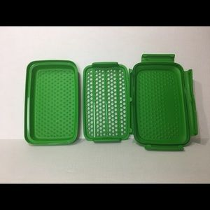 3 Piece Tupperware marinading set